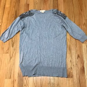 Michael Kors Short sleeve Sweater Size l!